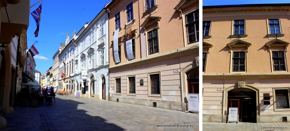 Panska Street - Palffy Palace