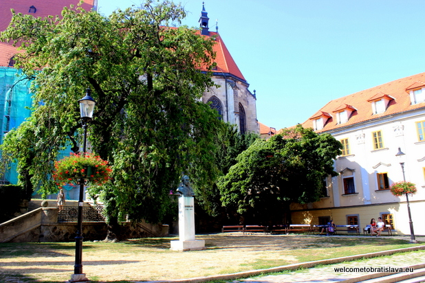 Panska Street - Rudnay Square