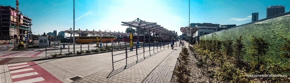 bus station mlynske nivy
