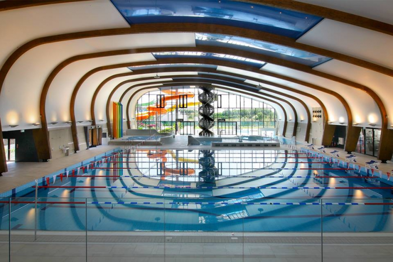 indoor swimming pools in Bratislava - X-Bionic Samorin