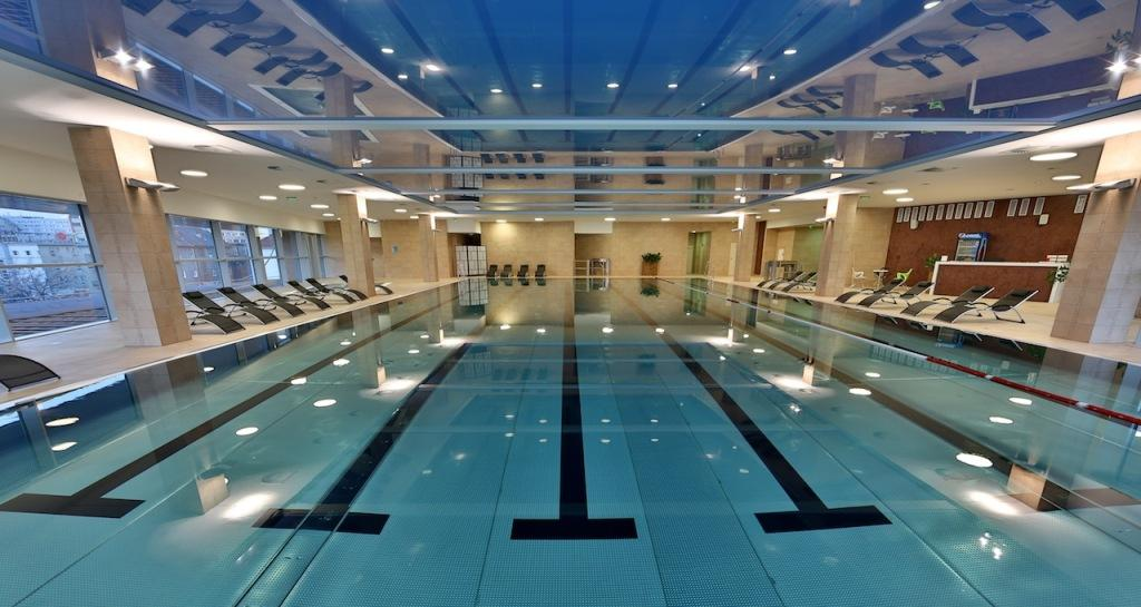 Indoor swimming pools in Bratislava - Golem Central