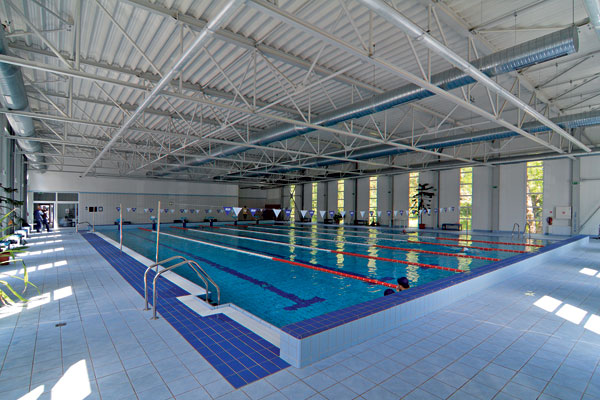 Indoor swimming pools in Bratislava - Gaudeamus