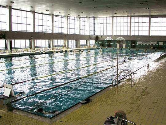 Indoor swimming pools in Bratislava - Pasienky