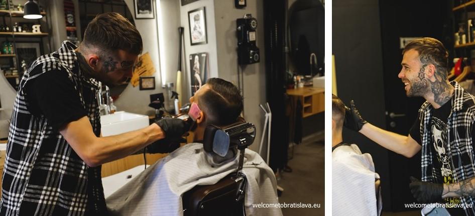 Bratislava's barber shops