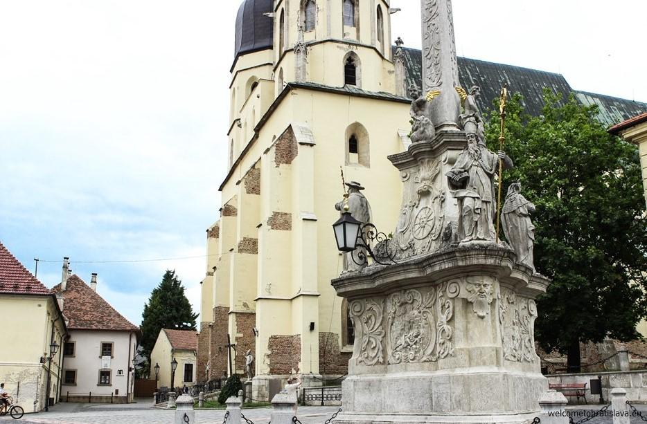 One day trip to Trnava