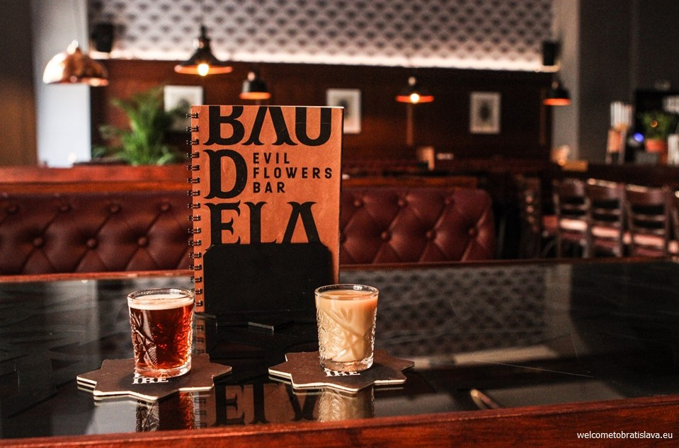 Baudelaire evil flowers bar