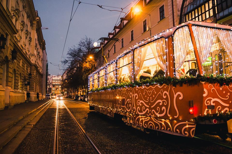 Christmas Bratislava.Christmas Tram In Bratislava Offers Free Rides