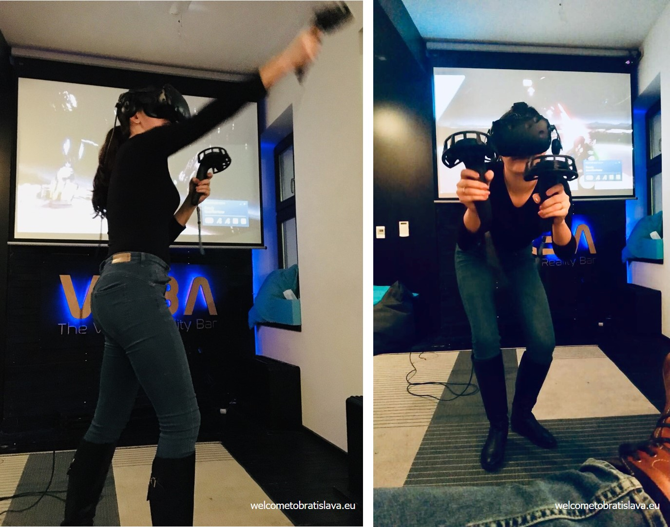 virtual reality places in Bratislava